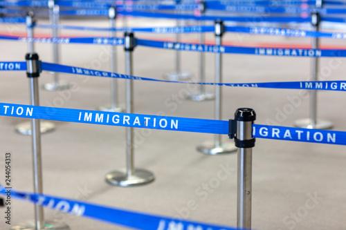 Photo 入国 移民 管理 空港