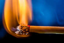 Burning Matchstick, Macro