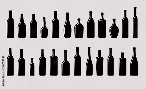 bottles ref set Canvas-taulu