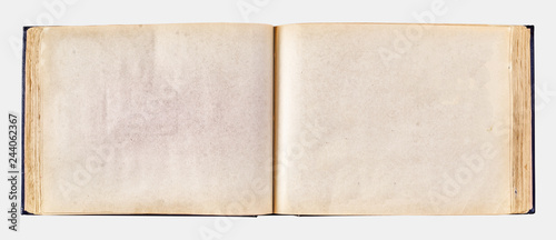 old yellowed photo album for photos. Wallpaper Mural