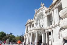 Museo Palacio De Bellas Artes Or Museum Palace Of Fine Arts Mexico City.