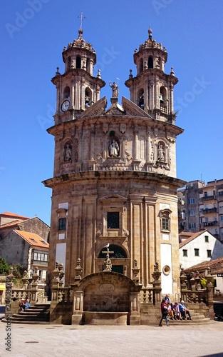 Church of La Peregrina in Pontevedra, Spain