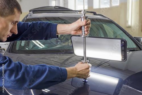Fototapeta  car repair