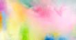 canvas print picture - farben fest pulver abstrakt