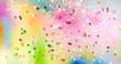 canvas print picture - farben fest pulver abstrakt konfetti