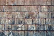 Cedar Planks Shingles Backgrou...