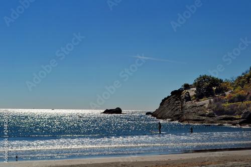 Fotografie, Obraz  Rock Face in the Atlantic