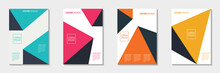 Set Of Abstract Cover Design. ...