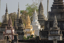 Stupa, Nokor Bachay Pagoda, Ka...