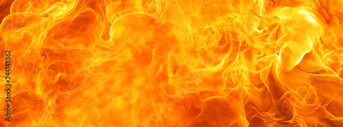 Fotobehang Vuur abstract blaze fire flame texture for banner background