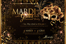 Mardi Gras Carnival Poster