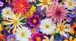 Leinwandbild Motiv beautiful floral background for greeting or postcard. toning