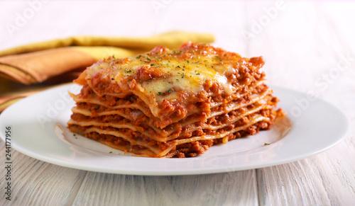 Kawałek lasagne