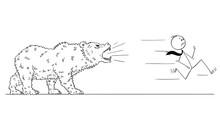 Cartoon Stick Man Drawing Conc...