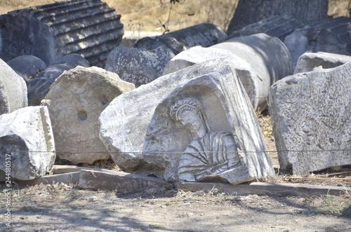 Foto  The ruins of Assos /Assos harebeleri/Çanakkale/Turkey