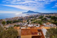 Altea White Village In Alicante Spain