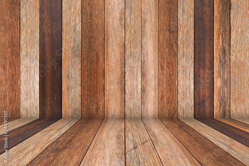 Garden Poster Wood Wooden table for presentation product