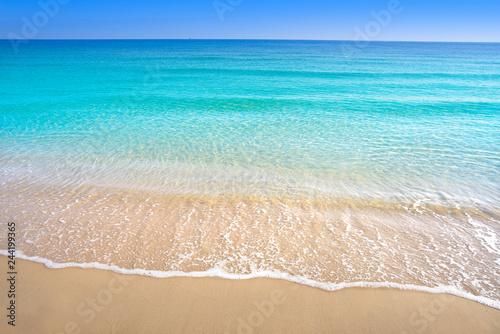 Fotografía  Perfect Mediterranean beach Costa Blanca