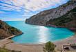 La Granadella beach in Javea of Spain