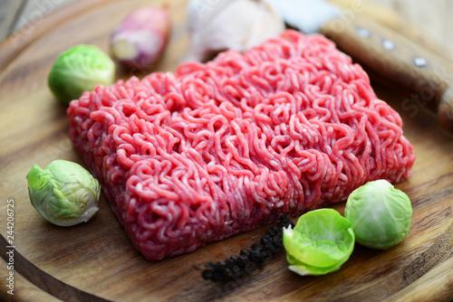 Hackfleisch Gemüse