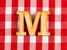 Letter M Of The Alphabet - Tex...