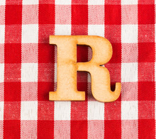 Letter R Of The Alphabet - Tex...