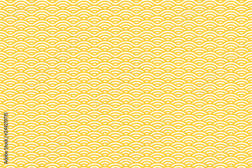 Foto  Vector Seamless Pattern with White and Yellow Stripes