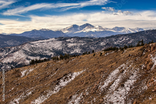 Fotografía  Rocky Mountain National Park from Storm Mountain in Roosevelt National Forest, C