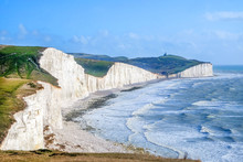Seven Sisters Chalk Cliffs, Ea...