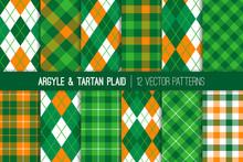 Irish Green, Orange, White Arg...
