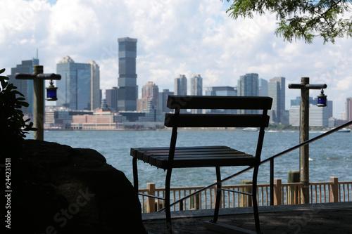 Deurstickers Amerikaanse Plekken New Jersey view from Battery Park, New York City, USA