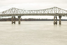 Railroad Bridge Over The Tenne...