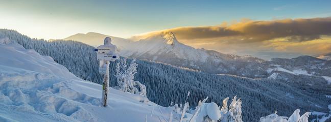Giewont - Tatry, zima 01.2019 rok