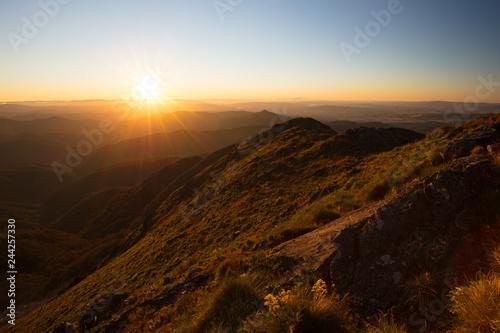 Fotobehang Oceanië Mt Buller Sunset