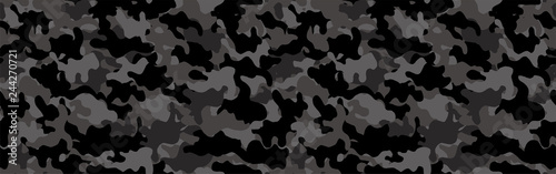 Camouflage background. Seamless pattern.Vector. 迷彩パターン Wallpaper Mural