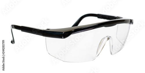 Protective workwear to protect human eyes, safety glasses Wallpaper Mural