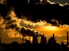 Industrial Plant Emitting Heav...