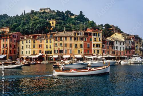 Poster Ligurie Portofino on Italian coast