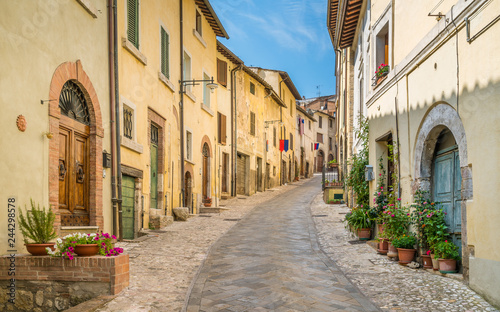 Amelia, ancient and beautiful town in the Province of Terni, Umbria, Italy Wallpaper Mural