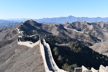 Panorama Of The Great Wall In ...