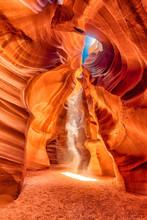 Colorful Antelope Slot Canyon Near Page, Arizona USA