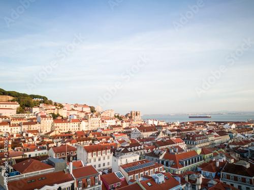In de dag Centraal Europa Lisbon, the capital of Portugal