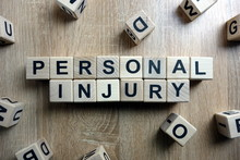 Personal Injury Text From Wood...