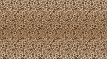 Panel Szklany Pantera Leopard print pattern. Seamless pattern of leopard skin. Fashionable cheetah fur texture