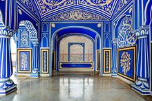 Jaipur City Palace, Rajasthan,...