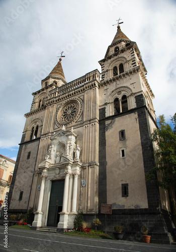 Cattedrale di Acireale monumento storico Canvas Print