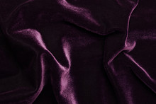 Beautiful Luxury Dark Purple Velvet Texture Background Cloth.