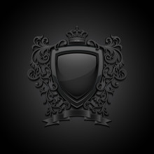 Coat Of Arms. Decorative Backg...