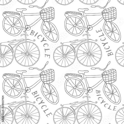 stary-rower-rysujacy-reka-bezszwowym-wzorem-tlo-dla-tkanin