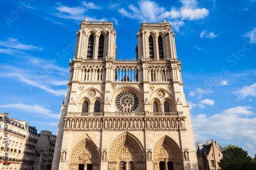 Notre Dame de Paris, France Wallpaper Mural